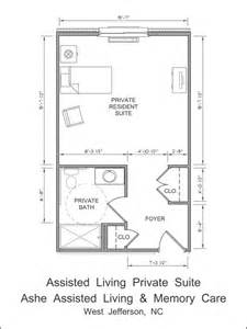 assisted living floor plan ashe assisted living