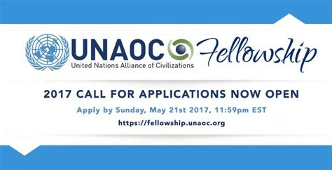 Opportunity Desk by Call For Applications Unaoc Fellowship Program 2017 Opportunity Desk