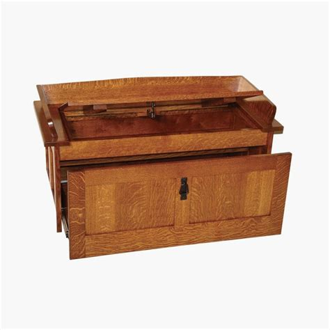 bench footwear shoe storage chest amish mission shoe storage bench