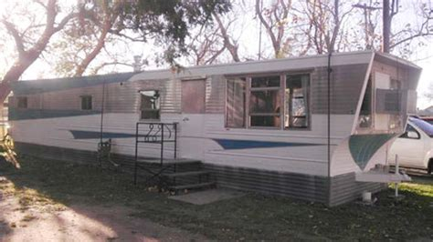 retro homes 1958 victor mid century mobile home with time capsule