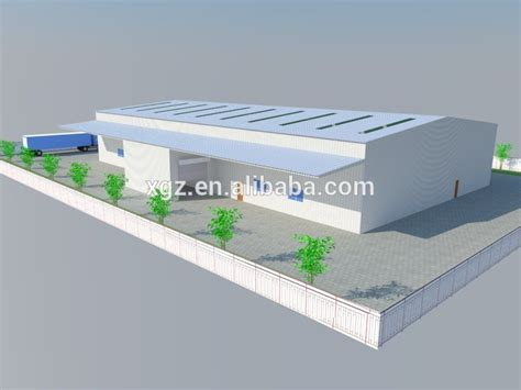 layout of factory building prefabricated warehouse office building factory layout