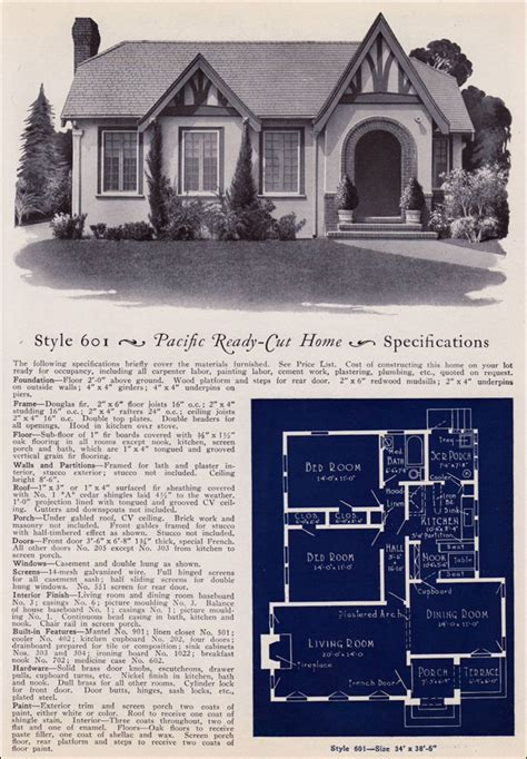 1925 pacific ready cut homes modern eclectic