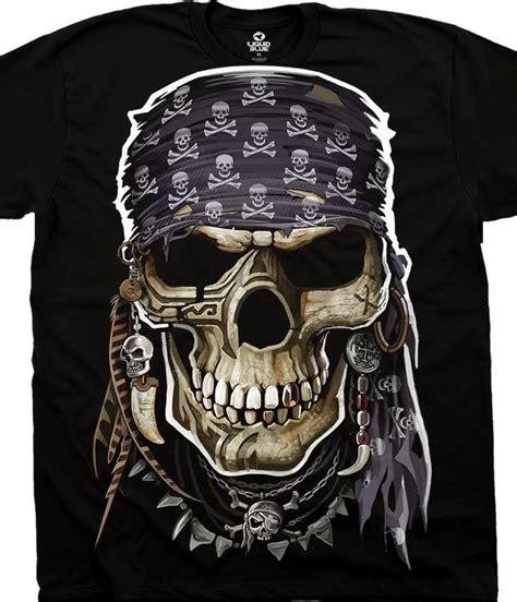 Skull The Shirt skulls pirate skull black t shirt liquid blue
