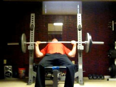 250 Lb Bench Press by Incline Bench Press 250 Lbs X 13 Reps At 205 Lbs
