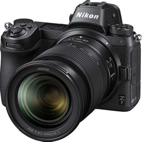 nikon z7 mirrorless with 24 70mm ftz adapter cameraland sandton
