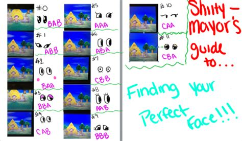 how to change eye color acnl acnl hacking guide tumblr