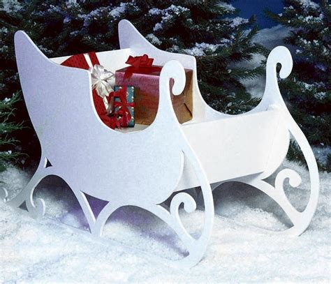 sleigh large format paper woodworking plan  wood