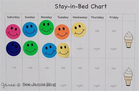 printable reward chart for staying in bed new sleep advice from expert sleep nanny lucy shrimpton