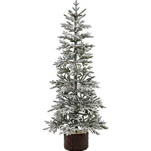 geneva 6ft white christmas tree