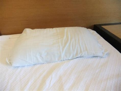 thin bed pillows unslept bed thin pillow picture of hotel paraiso de