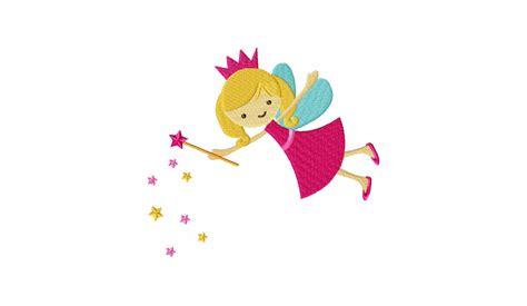 magical fairy machine embroidery design