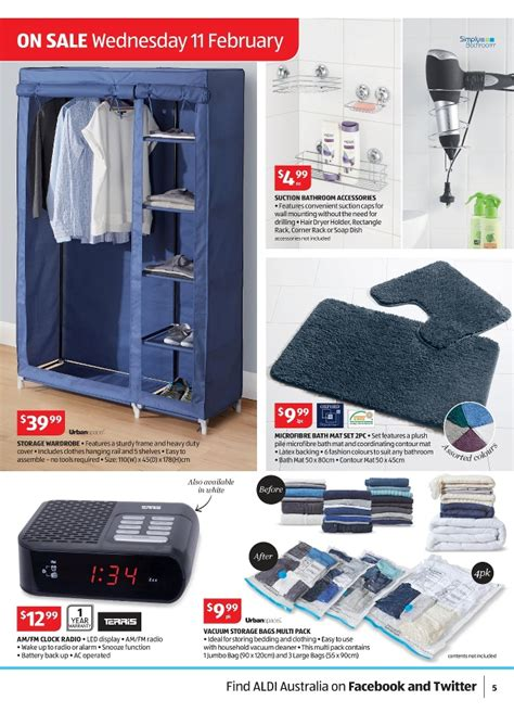 aldi bedroom furniture aldi special buys home products catalogue february 2015 page 5