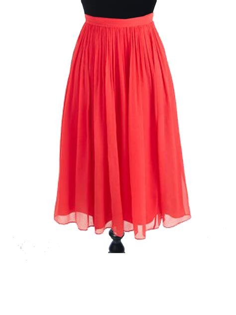 best chiffon midi skirt photos 2017 blue maize best coral chiffon skirt photos 2017 blue maize