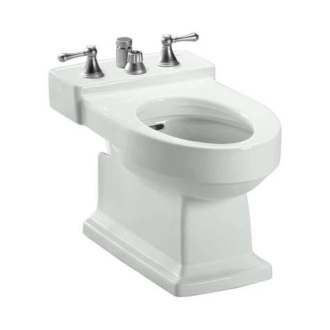 Toto Bidet by Toto Lloyd Elongated Bidet For Vertical Spray In Colonial