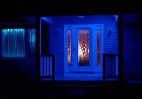Blue Light On Porch blue porch lights show support for wounded officer in