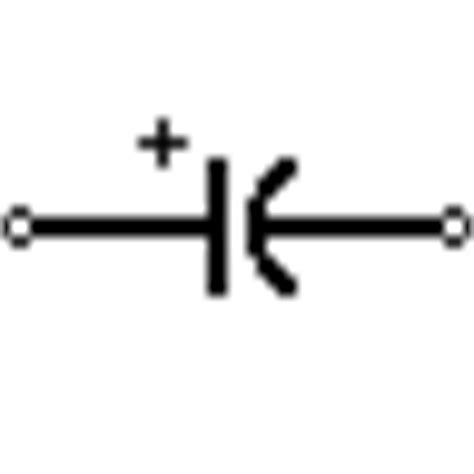 capacitor symbol electrical schematic symbols