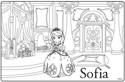disney coloring pages princess sofia sofia the premiere ideas coloring sheets