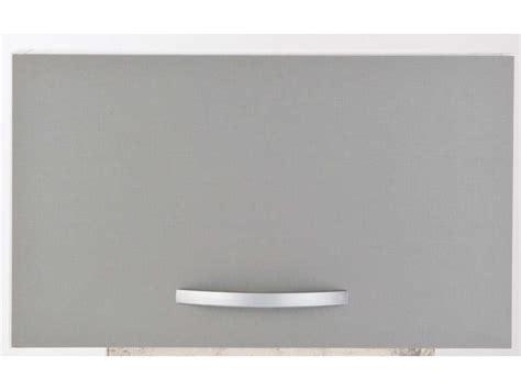 vente de hotte de cuisine dessus de hotte 60 cm spoon color coloris gris vente de meuble haut conforama