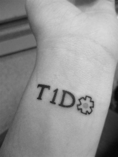 type 1 diabetes tattoos on wrist medic alert on