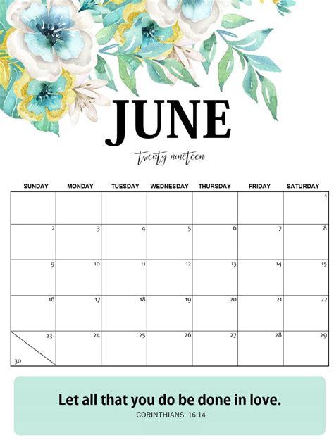 blank june  calendar word template magic calendar  printable