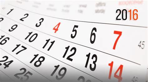 Calendario Academico 2016 Calendario Acad 233 Mico 2016 Cece