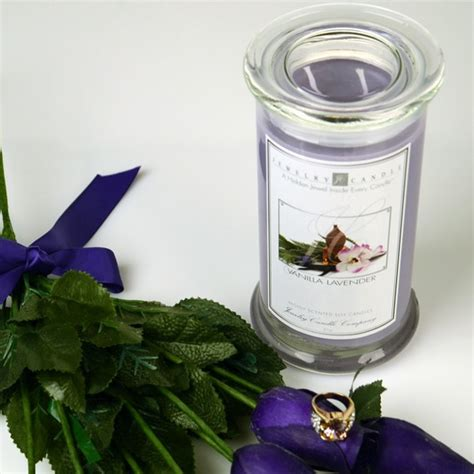 vanilla lavender jewelry candles