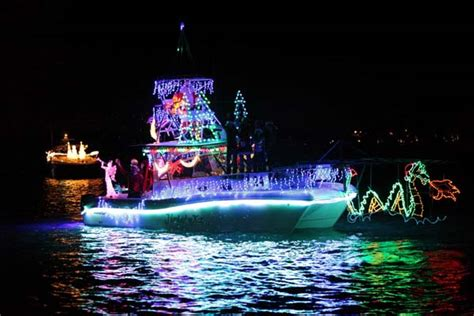 dana point christmas boat parade 2017 holiday boat parades on the california coast in 2016