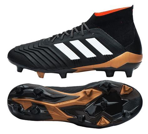 adidas predator 18 1 fg bb6354 soccer cleats football shoes boots black ebay