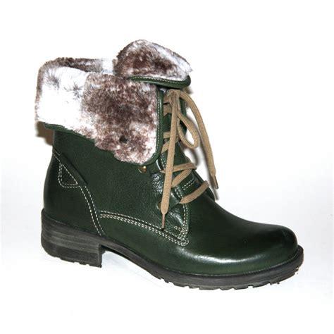josef seibel 04 jungle green ankle boot