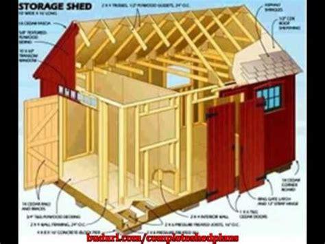 storage shed plans build storage sheds youtube