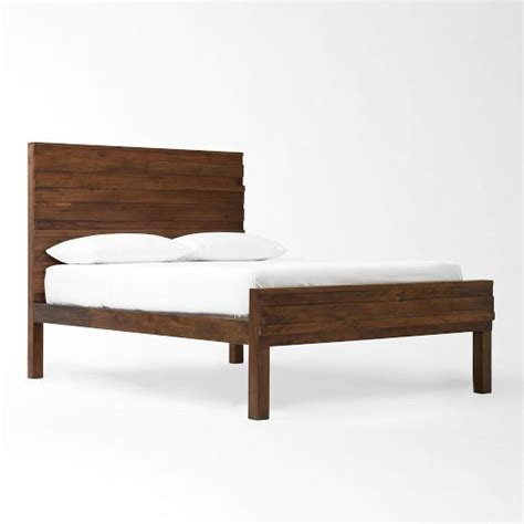 west elm queen headboard wood bedframe west elm http www westelm com products