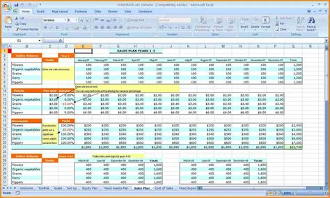 excel financial templates xlsx