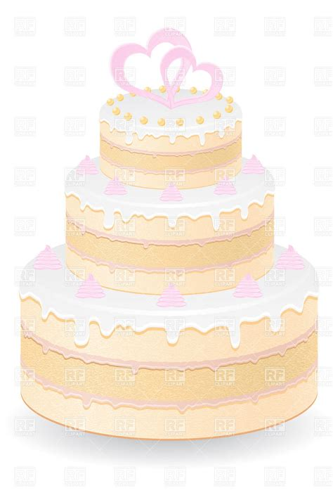 Wedding Cake Images Free by Wedding Cake Royalty Free Vector Clip Image 21059