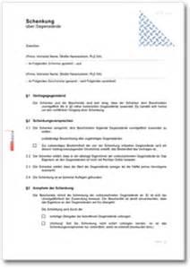 Musterbrief Geld Zurück Versicherung Dehoga Shop Schenkungsvertrag 252 Ber Gegenst 228 Nde Kaufen