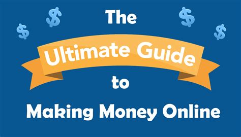 Online Money Making Guide - the ultimate guide to making money online dale rodgers