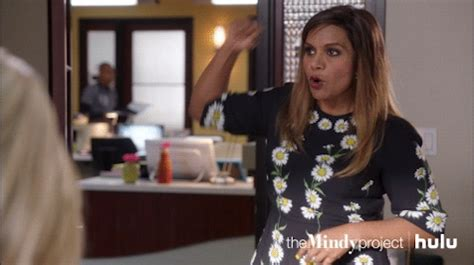 mindy kaling yes gif mindy kaling gifs find share on giphy