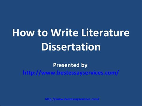 how do you spell dissertation how to write literature dissertation