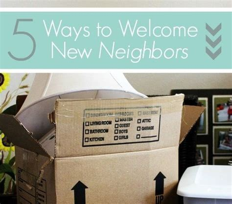 5 Ways To Welcome by 5 Ways To Welcome New Neighbors Apartment Cleaning