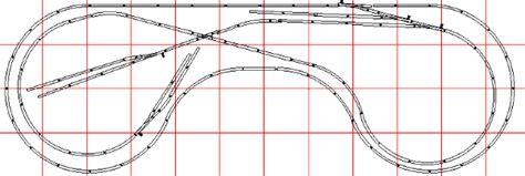 long semi dogbone  track layout  ho trains ho train layouts ho scale train layout ho