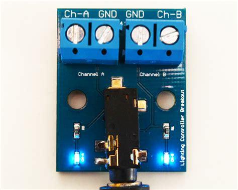 24 channel light board lighting controller diy breakout board 2 channel