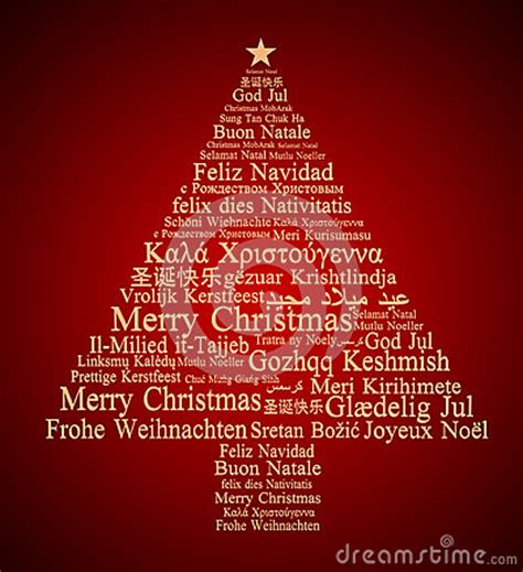 merry christmas   languages royalty  stock  image