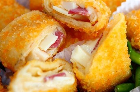 resep risoles smoked beef cheese resep kue