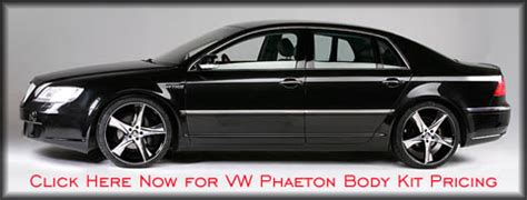 volkswagen phaeton body kit body kit styling for the volkswagen phaeton and