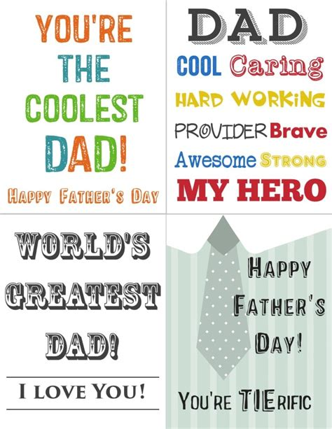 printable children s fathers day cards printables for kids free printable father s day cards