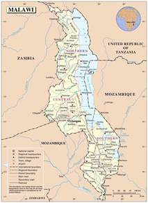 Malawi Africa Map by Political And Administrative Map Of Malawi Malawi