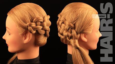 zipper braid hairstyle video tutorial   hairs  youtube