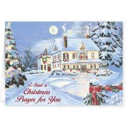 i said a christmas prayer religious christmas card set of