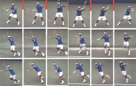 proper tennis swing fundamentals of forehand and backhand tennis technique