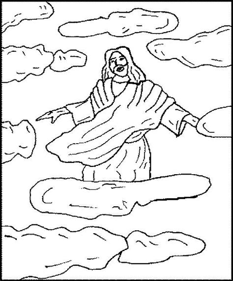 coloring pages ascension of jesus jesus ascension coloring page sketch coloring page