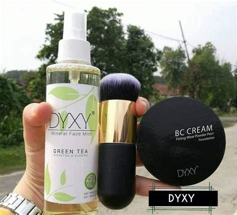 Makeup Dyxy Dyxy Cosmetic Kulit Flawless Glowing Mowing Tanpa Bedak
